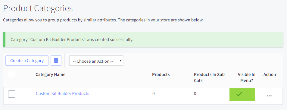 Installing BigCommerce on Kit Builder - Step 1