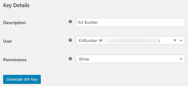 Installing Kit Builder on Woocommerce - Step 4